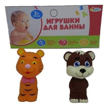 Игрушки для ванной набор Тигр и мишка Играем вместе LXB298_294