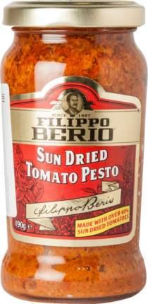 Соус Filippo Berio sun dried tomato pesto с сушеными томатами 190 г
