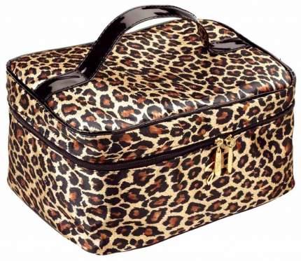 Косметичка средняя Janeke Spotted Quilted Travel Bag пятнистая