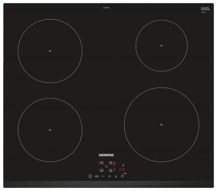 Встраиваемая варочная панель индукционная Siemens EU631BEB1E Black