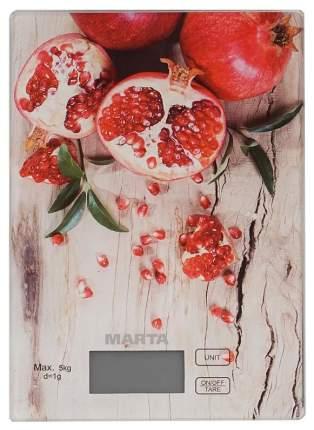 Весы кухонные Marta MT-1636 Гранат