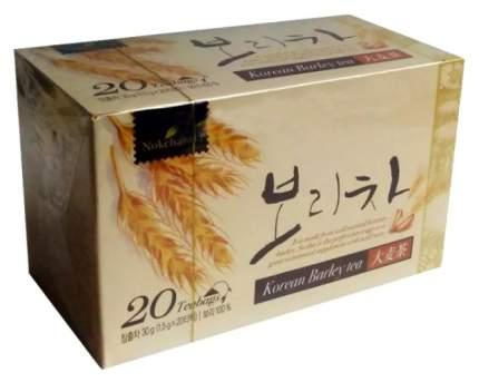 Корейский чай Nokchawon из ячменя 1.5 г 20 пакетиков