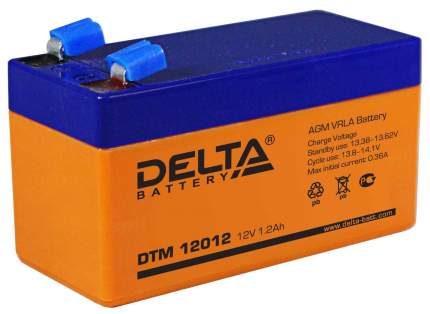 Аккумуляторная батарея DELTA DTM 12012