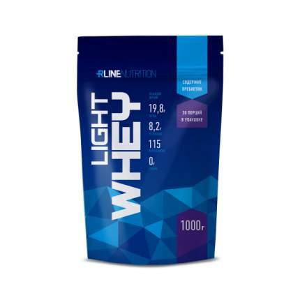 Протеин Rline Light Whey, 1000 г, клубника
