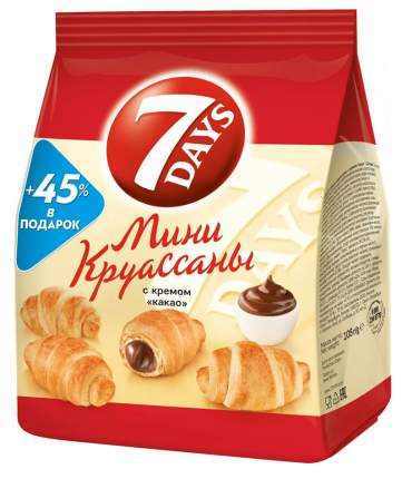 Круассаны-мини 7 Days с кремом какао 105 г
