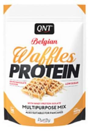 Протеиновые вафли QNT белый шоколад 480 г