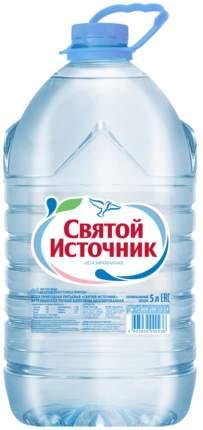 Вода артезианская Святой Источник негазированная пластик 5 л