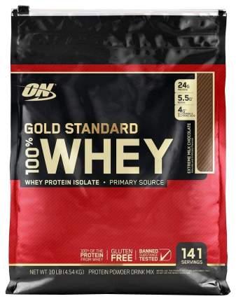 Протеин Optimum Nutrition 100% Whey Gold Standard 4540 г Extreme Milk Chocolate