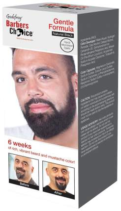 Краска для бороды Godefroy Barbers Choice Natural Black 33 мл