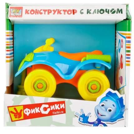 Конструктор Город мастеров с Ключом Квадроцикл Yc-4202-R