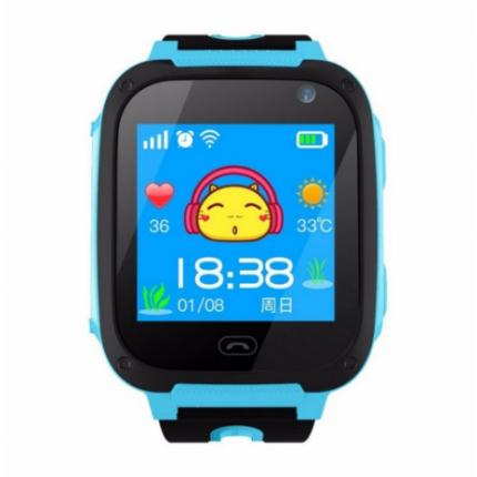 Детские смарт-часы SMART BABY WATCH S4 Blue