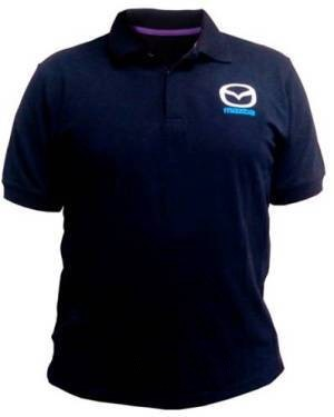 Мужская рубашка поло Mazda Men's Polo Shirt, Skyactiv, Black, 830077556