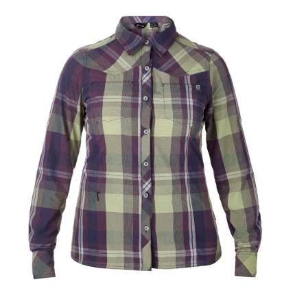Рубашка Berghaus Explorer Eco Long Sleeve, iris big check, 10 US