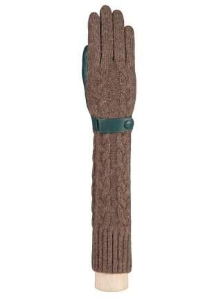 Перчатки женские Labbra LB-02073 зеленые 6.5