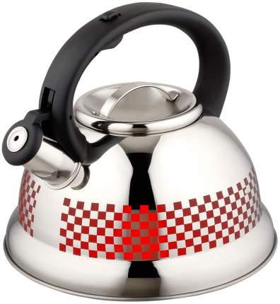 Чайник Agness Красный Узор 907-001