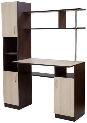 Компьютерный стол Бител СК-7 BTL_SK-7 120x50x160, бежевый/коричневый