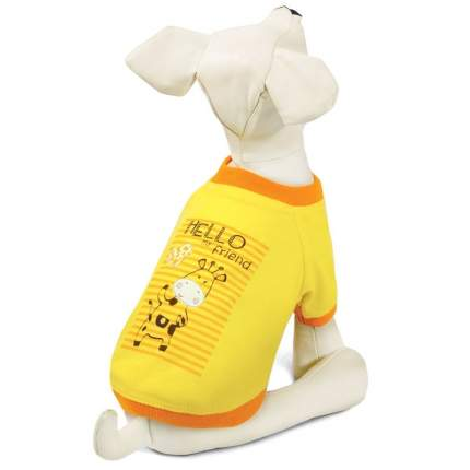 Футболка для собак Triol Жираф, размер L