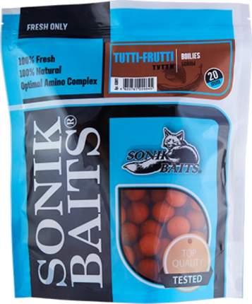 "Бойлы тонущие Sonik Baits ""Tutti Frutti"", 20 мм, 0,75 кг"