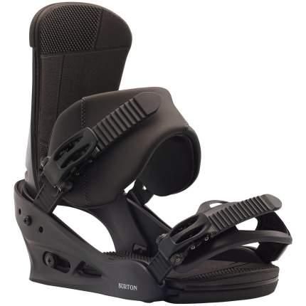 Крепления для сноуборда Burton Custom 10542106001 2020, черные, L