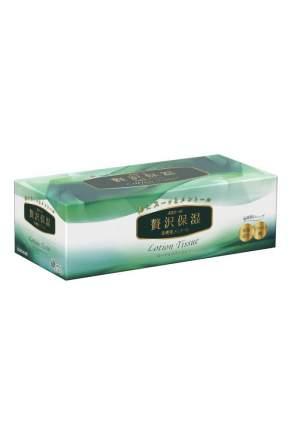 Салфетки бумажные в коробке Elleair Lotion Tissue Mentol 160 штук