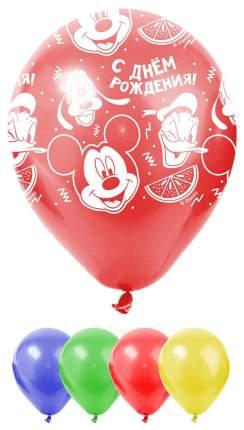 """Воздушные шары """"Микки Маус и его друзья"""" - С праздником, 25 шт.  Sima-Land"""