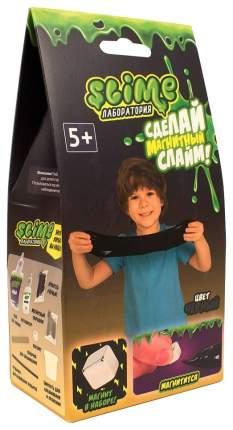 """Набор для мальчиков малый """"Slime"""" """"Лаборатория"""", черный магнитный, 100 гр."""