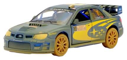 Машина металлическая Subaru Impreza WRC (Muddy), 1:36, Kinsmart