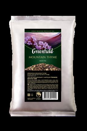 Чай черный Greenfield листовой mountain thyme 250 г