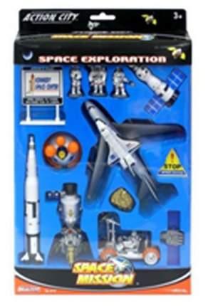 Игр. набор Realtoy BOX Космический центр космический корабль, спутник, космонавты