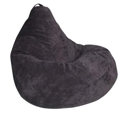 Кресло-мешок DreamBag Кресло-мешок, размер XXL, велюр, темно-серый