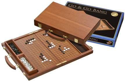 Настольная игра Го в чемоданчике (красное дерево, пластик), Philos, арт. 3211