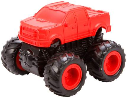 Машина пласт. с 4-мя ведущими колёсами (4WD), серия NEON, син,/ жёлт./ крас