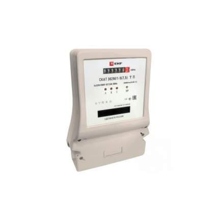 Счетчик электроэнергии EKF СКАТ 302М/1 - 5(7,5) Т П PROxima