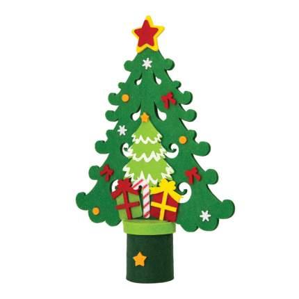 Фигурка новогодняя Феникс Present ель фетр, 34 см