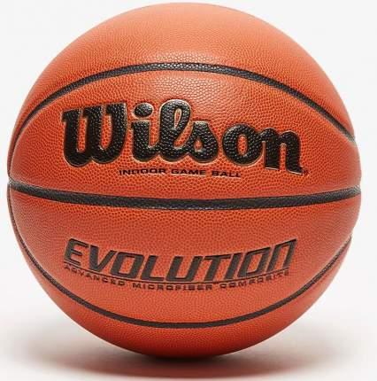 Баскетбольный мяч Wilson Evolution №7 brown