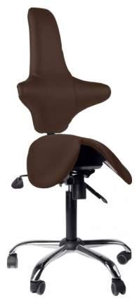 Кресло-седло со спинкой EZSolo Back (цвет обивки: коричневый)