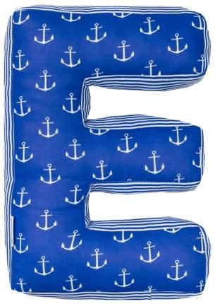 Подушка Крошка Я буква Е 35х25 см, синий