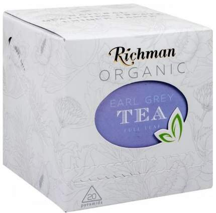 Чай черный Richman Earl Grey 20 пак