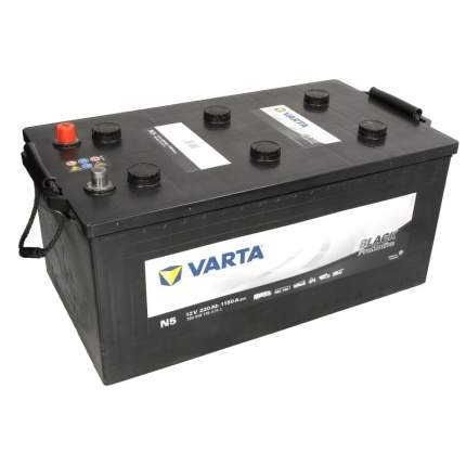 Аккумулятор VARTA PromotiveBlack N5 220euro 1150A 518x276x242 720018115