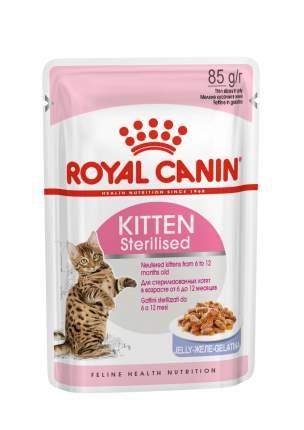 Паучи Royal Canin Kitten Sterilised для стерилизованных котят от 6 до 12 месяцев 85 г