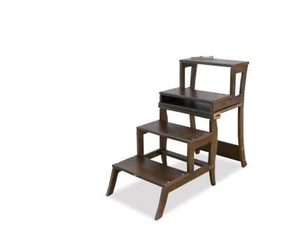 Стул стремянка Мебель Welcome СТ-4-ОР, коричневый