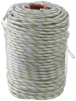 Фал плетёный капроновый СИБИН 24-прядный диаметр 12 мм, бухта 100 м, 2200 кгс