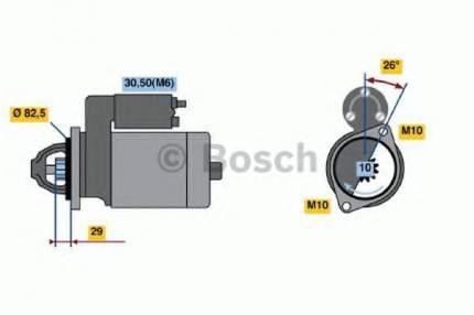Стартер Bosch 0986018270
