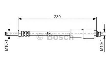 Шланг тормозной системы Bosch 1987476173