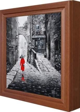 "Ключница ""Richard Telford - A Stroll Through The Old City II"" Орех"