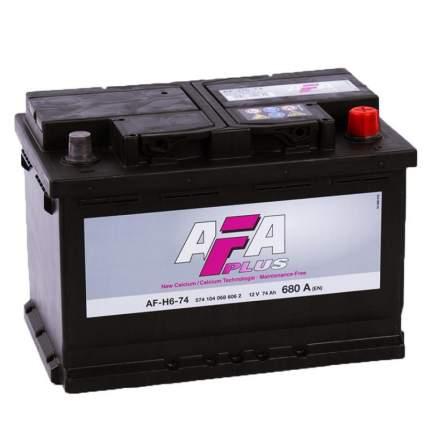 Аккумулятор автомобильный Afa AF-H6-74