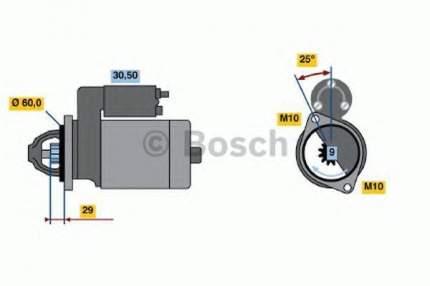 Стартер Bosch 0986017890