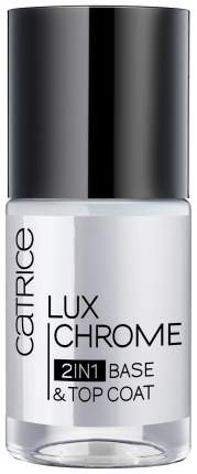 Закрепитель лака для ногтей Catrice LuxChrome 2in1 Base & Top Coat 10 мл