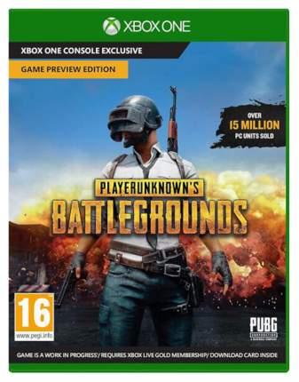 Игра для Microsoft Xbox One PlayerUnknown's Battlegrounds 1.0