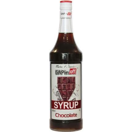 Сироп Barinoff шоколад 1 л